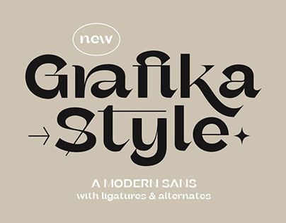 Grafika - Modern Sans Font