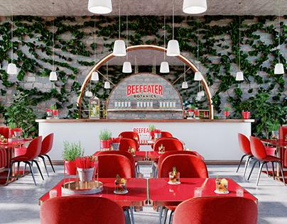 Beefeater Botanics Cafe - Interior Design Concept