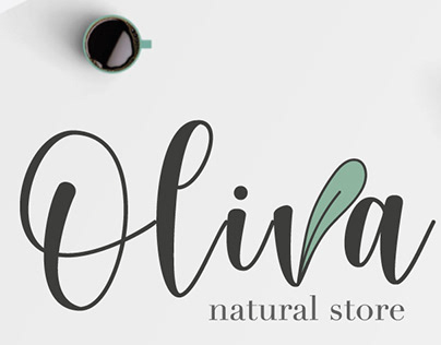 Oliva Natural Store | Logo Design