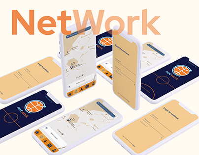 NetWork - Basketball game planner UI