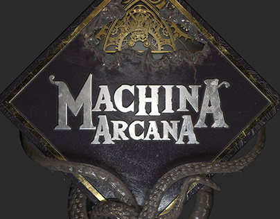 Machina Arcana logo rework