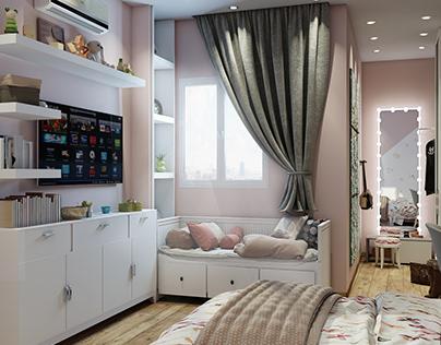 Girls Bedroom 2