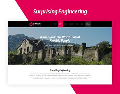 Surprising Engineering Website