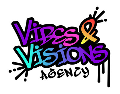 LOGO DESIGN: Vibes&Visions Agency