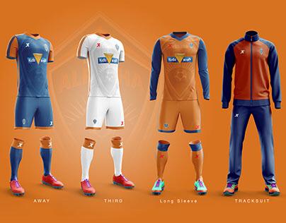 Al Fayha Football Club Kit Concept