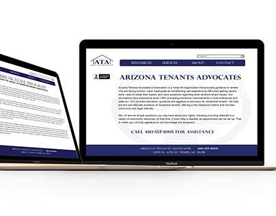 Arizona Tenants Advocates Website Redesign