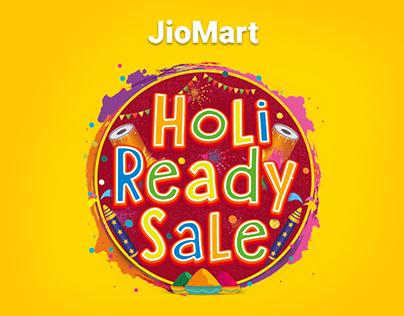 Jiomart Holi ready sale campaign