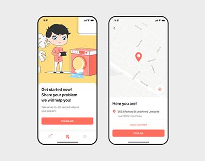 Service Engagement App