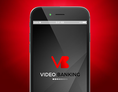 Video Banking UI design