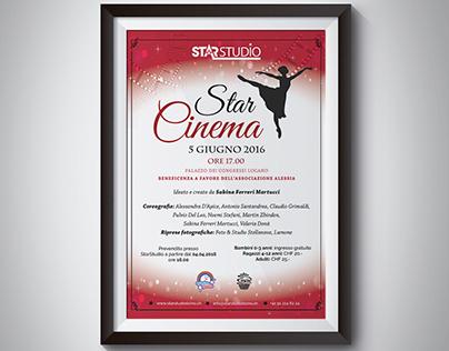 Dance school musical poster