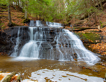 Hells Hollow Falls, Cleland Rock, Photography/Video