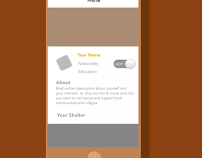 Share Shelter UX Animation