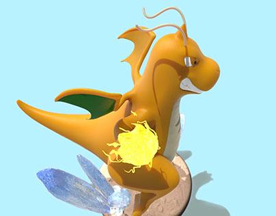 Dragonite 3D