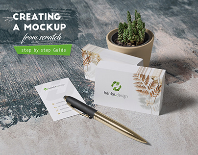 Creating a mockup from scratch (Guide)