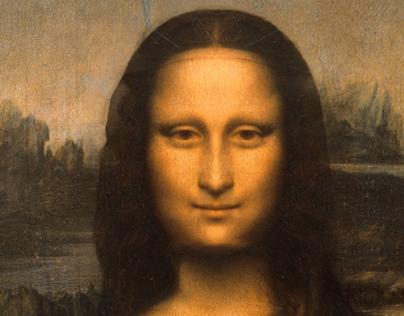 Look at me, Mona Lisa.