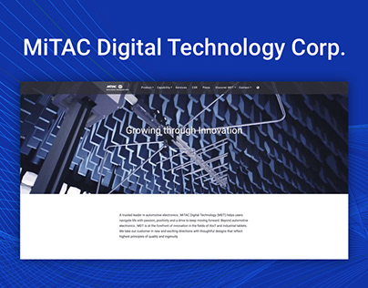 MiTAC Digital Technology Corporation Website