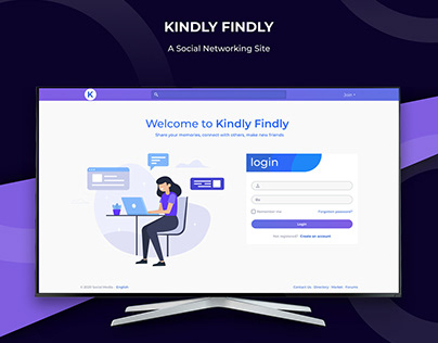 Kindly Findly - A Social Networking Site