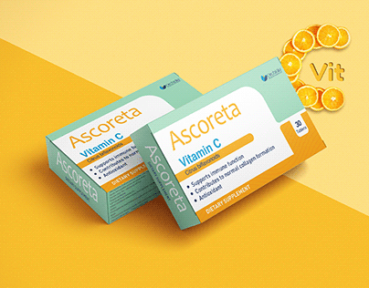 Ascoreta Packaging design