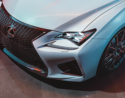 Lexus RC-F   CGi   MAGROUND Collab