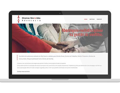 ORA Advocacia Web Site