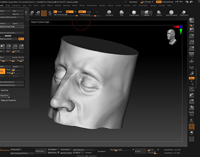 How to sculpt a nose on ZBrush