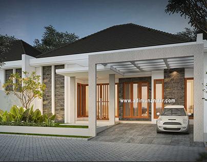 Desain Arsitektur Renovasi Rumah di Manyar Surabaya