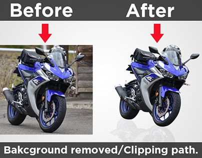 Clipping path/ Background Removed