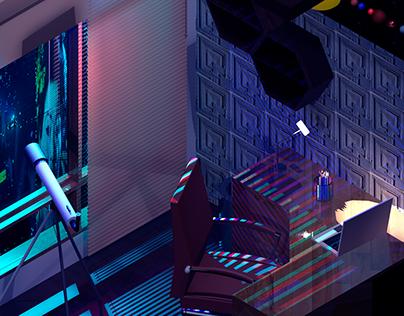 Sci-Fi Home Office - Blade Runner