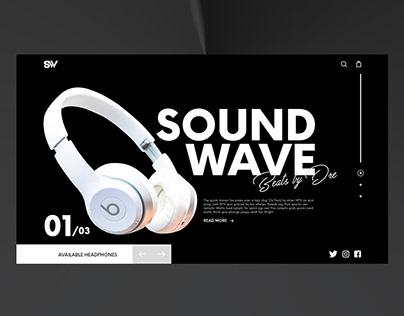 Soundwave - Daily UI #1