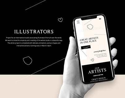 Illustrators Web Design