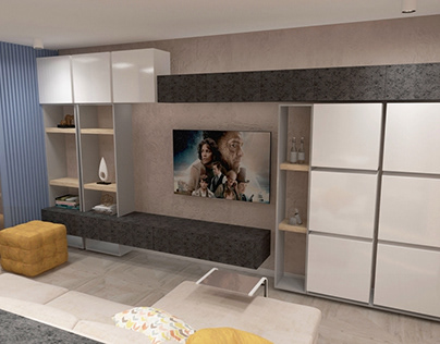 Создание дизайна гостиной для квартиры