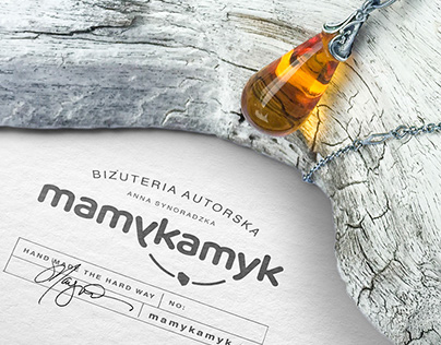 mamykamyk brand and packaging