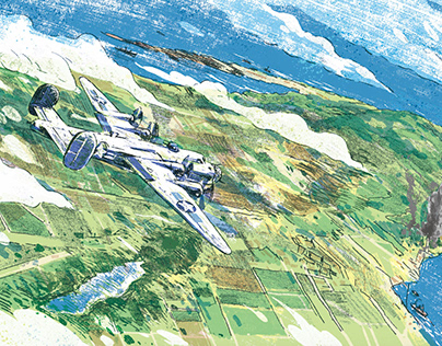 "Illustrations for the book ""Shinyo"" 書籍插畫《左營二戰祕史:震洋特攻隊駐臺"