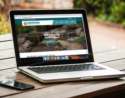 Brookside Landscape & Design Website