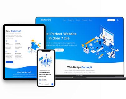Website Agentie Digitala