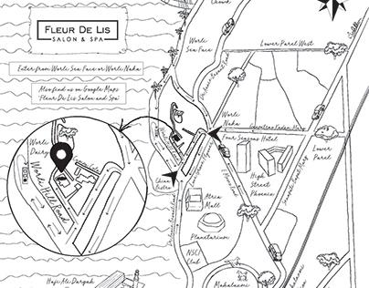 Fleur De Lis Map