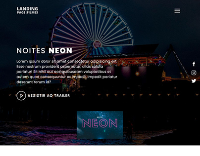 Landing Page - Trailers