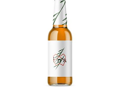 ''Ina'' Cider (Packaging/Branding)