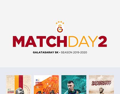 Galatasaray SK 2019-2020 Matchday Design 2