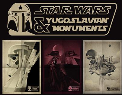 Star Wars & Yugoslavian brutal monuments
