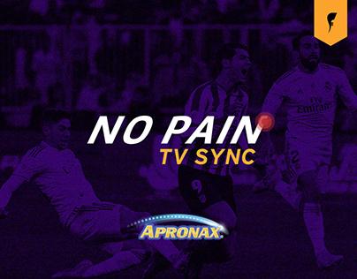 No Pain TV SYNC / Apronax