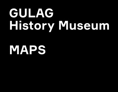 Maps for GULAG History Museum