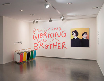 WORKING WITH A BROTHER - Solo exhibition