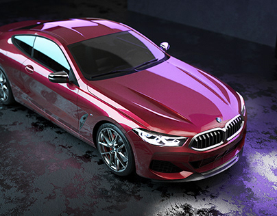 BMW 8 Series CGI