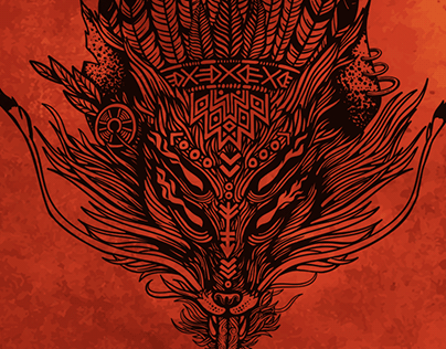 Artwork Stoned Fox