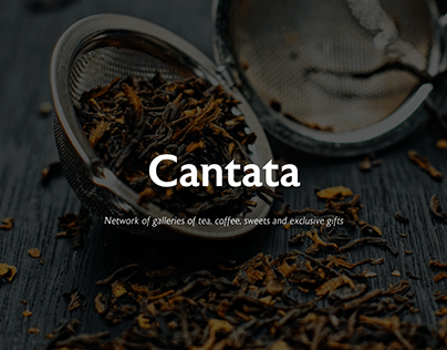 Cantata — website redesign