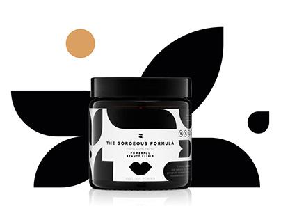 ZOJO – identity, packaging, website beauty supplements