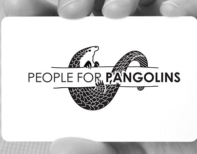 People for Pangolins - Brand Design