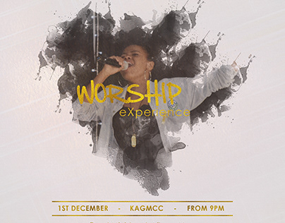 Worship Experience Poster Idea