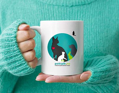 Упаковка бизнеса товаров для животных petspb.ru